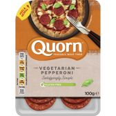 Quorn Vegetarian pepperoni (at your own risk, no refunds applicable)