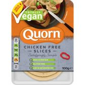 Quorn Vegan chicken slices (at your own risk, no refunds applicable)