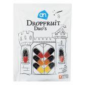 Albert Heijn Dropfruit duo's