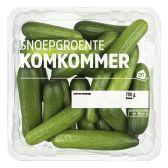 Albert Heijn Snoepgroente komkommers (voor uw eigen risico)