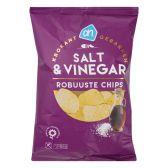 Albert Heijn Robuuste chips zeezout en vinegar