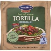 Santa Maria Organic tortilla wraps
