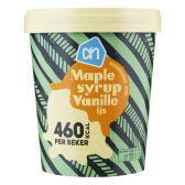 Albert Heijn Maple syrup vanille ijs (alleen beschikbaar binnen Europa)