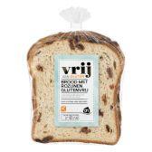 Albert Heijn Glutenvrij rozijnen brood (voor uw eigen risico)
