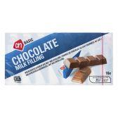Albert Heijn Basic chocolate bars with milk stuffing