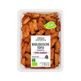Albert Heijn Biologisch tofu roerbakreepjes pittig gekruid (alleen beschikbaar binnen Europa)