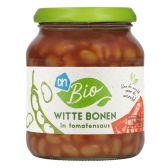 Albert Heijn Organic white beans in tomato sauce