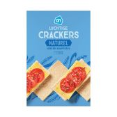 Albert Heijn Light crackers natural