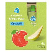 Albert Heijn Apple and pear squeeze bag