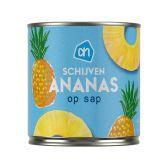 Albert Heijn Pineapple slices on juice
