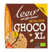 Leev Bio choco XL koek glutenvrij
