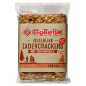 Bolletje Seeds crackers with pumpkin seeds