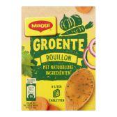 Maggi Natural vegetable stock cubes