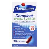 Davitamon Compleet omega-3 visolie capsules