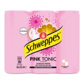 Schweppes Roze tonic 6-pack