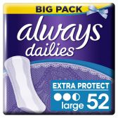 Always Dailies extra protect large inlegkruisjes groot