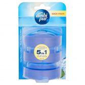 Ambi Pur Toiletblok fresh water & mint navulling