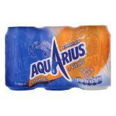Aquarius Sportdrank orange 6-pack