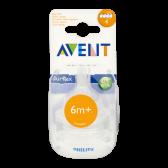 Avent Airflex flessenspeen (vanaf 6 maanden)