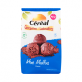 Cereal Gluten free & lactose free mini muffins cacao