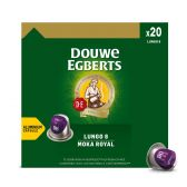 Douwe Egberts Koffie lungo moka royal caps