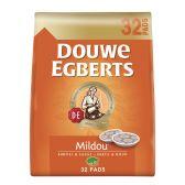 Douwe Egberts Koffie Mildou pads