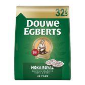 Douwe Egberts Koffie mokka royal pads