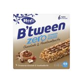 Hero B'tween zero chocolade en hazelnoot granenreep