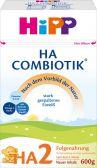 Hipp Combiotik hypoallergene opvolgmelk HA 2 melkpoeder (vanaf 6 maanden)