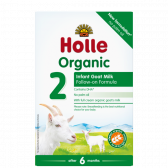 Holle Organic follow-on goat milk 2 baby formula (from 6 months)