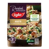Iglo Risotto with fungus and courgette (only available within Europe)