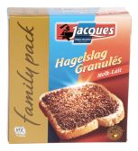 Jacques Milk chocolate sprinkles family pack