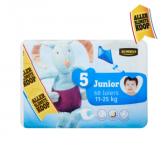 Jumbo 5 Junior 11-25 kg diapers large