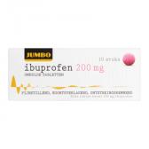 Jumbo Ibuprofen omhulde tabletten 200 mg