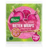Knorr Vegan beets wraps