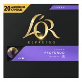 Douwe Egberts L'Or espresso lungo profondo koffiecups voordeelpak