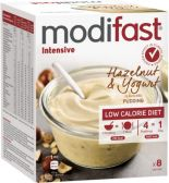 Modifast Intensieve hazelnoot en yoghurt pudding
