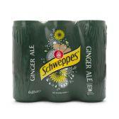 Schweppes Ginger ale 6-pack