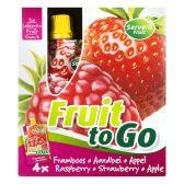 Servero Fruit to go framboos-aardbei-appel