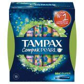 Tampax Tampons compak pearl super