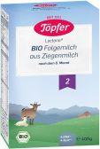 Topfer Organic follow-on goat milk 2 baby formula (from 6 months)