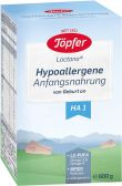 Topfer Hypoallergenic infant milk HA 1 baby formula (from 0 months)