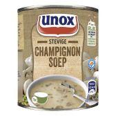 Unox Soep in blik stevige champignonsoep klein