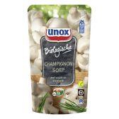 Unox Soep in zak biologische champignon