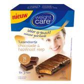 Weight Care Tussendoortje chocolade & hazelnoot reep