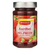 Zonnatura Aardbei 75% fruit
