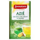 Zonnatura Azie groene thee, munt & gember
