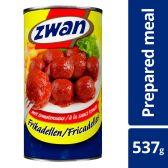 Zwan Frikadellen tomatensaus