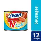 Zwan TV worstjes light