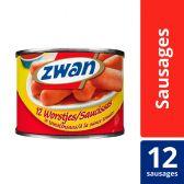 Zwan TV worstjes tomatensaus